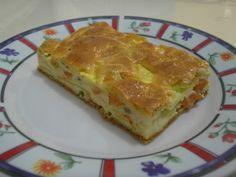 Receita de Torta de abobrinha saborosa. Enviada por Cláudia Piai e demora apenas 90 minutos.