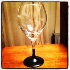 DIY: Chalkboard Wine Glasses   Love Life and the Little Things