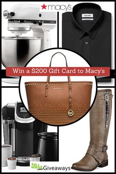 Win a Macy's Gift Card $200