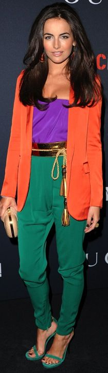 Camilla Belle in Gucci S/S 2011 at the Gucci and RocNation Host the Pre-Grammy Brunch, February 2011