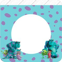 Monster Inc Party, Bu Monster, Monster Birthday Parties, Birthdays, Card Making, Kawaii, Baby Shower, Cards, Html