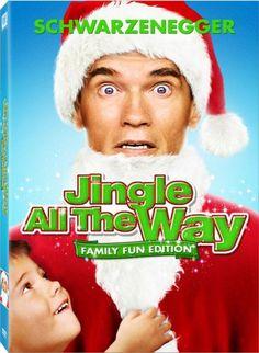 Jingle All the Way (Family Fun Edition) Christmas Movie DVD Schwarzenegger Xmas Movies, Family Christmas Movies, Classic Christmas Movies, Family Movies, All Family, Good Movies, Holiday Movies, Christmas Time, Christmas Classics