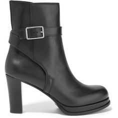 Acne Studios - Opal Leather Ankle Boots