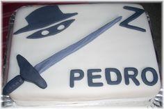 Zorro cake - Google Search