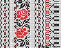 "Варежки ""РОЗЫ"".Связаны спицами. Схема. Pixel Art, Mittens, Christmas Sweaters, Projects To Try, Kids Rugs, Embroidery, Knitting, Crochet, Pattern"