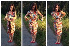 """""""Teach Me Fashion Wrap Dress"""" sewing pattern by Donna at Sew Independent Named Clothing, Wrap Style, My Style, Easy Wrap, Kimono, Dress Patterns, Couture, How To Wear, Sewing Tips"""