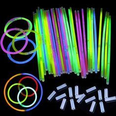 """50 Unids/lote 8 """"Mix Palillo Del Resplandor de Luz Collar Pulseras Juegos Olímpicos Suministros Fiesta de Cumpleaños Festiva Concierto Vocal 3-5hours Iluminación"""