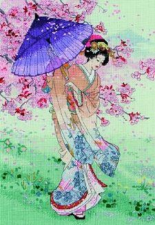Yumezakura - Maia Cross Stitch 5678000-01145