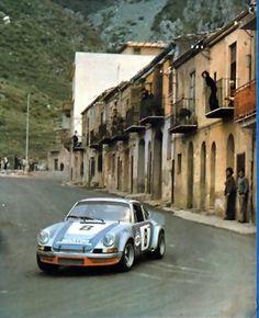 Muller/van Lennep Porsche Carrera RSR Targa Florio 1973