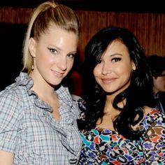 hi. we're Heather Morris & Naya Rivera. and we're perfect. <3