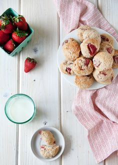 Mini Strawberry Scones