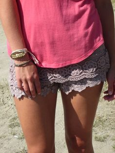 lace shortsMore about your favorite Lace here: www.InspirationBook.us/the-grace-of-the-lace