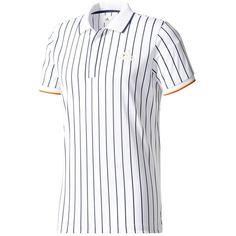 0e8bcdf2cd7e3 Adidas New York Striped tennispolo heren white De Wit Schijndel · Tennis  FashionPharrell WilliamsTennis ...