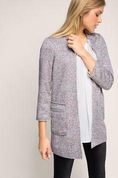 Hübscher #Mantel in #Rosa von #Esprit. Der melierte Mantel rundet viele Styles ab. ♥ ab 89,99 €