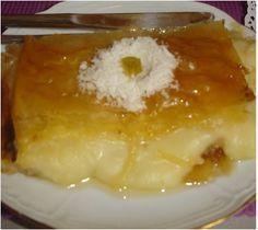 Γαλακτομπούρεκο με γάλα καρύδας !!Δεν περιγράφετε με λόγια η γεύση του !!!! ~ ΜΑΓΕΙΡΙΚΗ ΚΑΙ ΣΥΝΤΑΓΕΣ