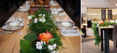 An Indie Wedding Social: Part 1 - Chelsea Lee Flowers - Candace Berry Photography - Halifax, Nova Scotia Wedding - Garland Wedding Show, Wedding Table, Garland Wedding, Nova Scotia, Before Christmas, Berry, Chelsea, Indie, Table Decorations