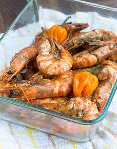 Jamaican Hot Pepper Shrimp