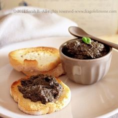 French Black Olive Dip