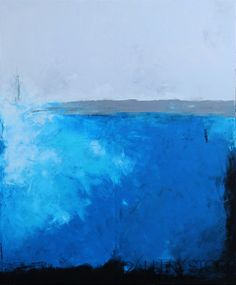 Obraz olejny - Niebieski VII