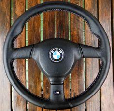 BMW MTechnic 2 Mtech2 370mm Steering Wheel E36 M3 E34 M5 E32 E31 E38 E39 E46 #BMW