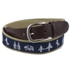 Taylor Stitch Derby Leather Tab Belt