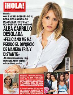 Alba Carrillo, desolada tras su separación de Feliciano López once meses después de su boda: 'Me ha pedido el divorcio de manera fría y distante'