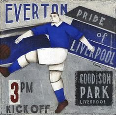 Football Posters - Everton - Pride Of Liverpool Print Liverpool History, Liverpool Home, Football Fans, Football Players, Everton Wallpaper, Everton Fc, Football Wallpaper, Sport 2, Poster On