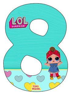 Alfabeto LOL SURPRISE Letras para descargar gratis   Todo Peques Happy Birthday Sister, Bday Girl, 8th Birthday, Diy Birthday Number, Doll Party, Lol Dolls, Kids And Parenting, Free, Birthday Celebrations