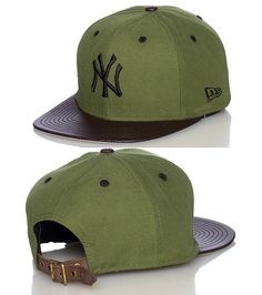 NEW ERA New York Yankees strapback cap Baseball MLB Polyurethane brim  Embroidered team logo on front. Gorra New EraGorras Planas ... 266c5747488