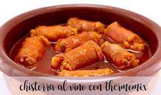 Chistorra al Vino blanco con Thermomix Los mejores vinos del mundo. Best wines of the world. Tapas, Wines, Sweet Potato, Potatoes, Vegetables, Cooking, Food, Animal, Halloween
