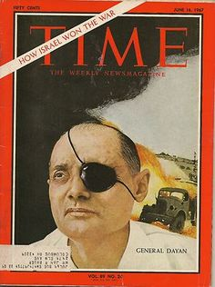 TIME MAGAZINE ~ JUNE 16 1967 ~ 6/16/67 ~ GENERAL DAYAN How Israel Won the War