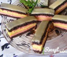 Egyszerű puncsos szelet Cake Bars, Ethnic Recipes, Food, Meals, Yemek, Eten