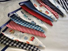 Boys Birthday Party Bunting   12 flags Fabric Garland by Melsey, $23.99
