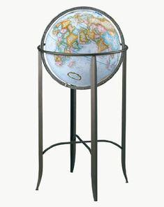 Replogle Globes Trafalgar Globe, 16-Inch, Blue