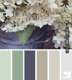 Lovely muted garden tones