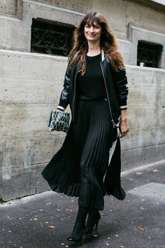 Street style at Fashion Week Haute Couture Fall-Winter 2017-2018 Paris