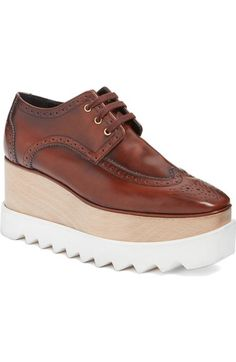 STELLA MCCARTNEY 'Elyse' Platform Oxford (Women). #stellamccartney #shoes #