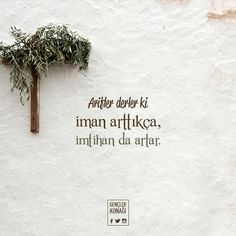 Allah Islam, Islam Quran, Islamic Quotes, Learn Turkish Language, Life Guide, Sister Quotes, Quotes About God, Ramadan, Cool Words
