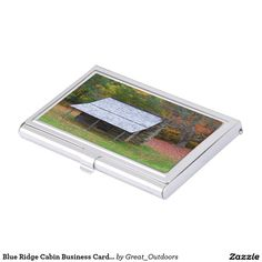 Blue Ridge Cabin Business Card Holder