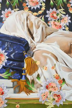 Kehinde Wiley - Contemporary Artist - Figurative & Rococo Painting - Urban Renaissance - Details