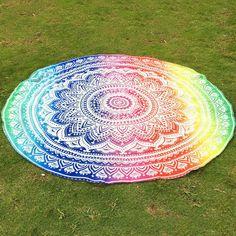 Mandala Chiffon Cover Up