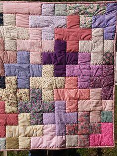 A lap quilt for Grande.