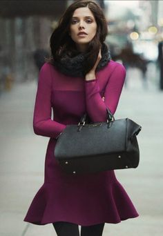 How to wear coat properly? Street style inspirations winter/fall 2015 #coat #style #clothes #fashion #trends #inspiration #colorful #stylish #girl #model