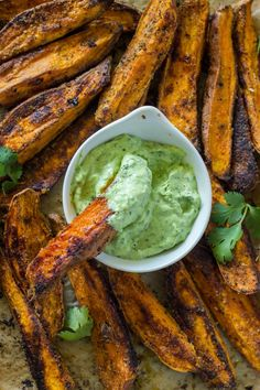 Roasted Potato Wedges With Cilantro-Lime Mayonnaise Recipe ...