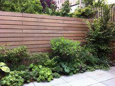 horizontal fence -- fancy pants -- love it