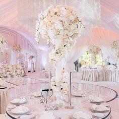 Top 10 Luxury Wedding Venues to Hold a 5 Star Wedding - Love It All Wedding Reception Decorations, Wedding Themes, Wedding Centerpieces, Wedding Table, Wedding Ideas, Ivory Wedding, Elegant Wedding, Star Wedding, Dream Wedding