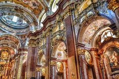 Are you looking for some exciting day trips from Vienna? My guide will show you several beautiful places you can reach in 1 to 3 hours from Vienna. Architecture Baroque, Beautiful Architecture, Interior Architecture, Architecture Wallpaper, Residential Architecture, Interior Design, Italian Baroque, Baroque Art, Education Architecture
