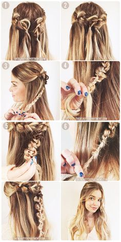 DIY Wedding Hairstyles to Try on Your Own - Part II - The Macrame Braid via The Beauty Department