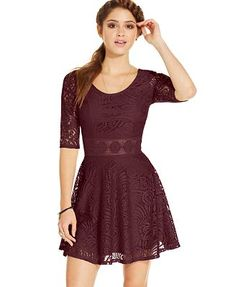 American Rag Lace Skater Dress, Only at Macy's