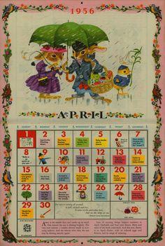 Golden Gems: The Golden Calendar - 1956